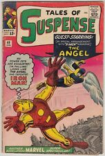 TALES OF SUSPENSE #49, MARVEL COMICS 1964, VG CONDITION, 1ST X-MEN CROSS-OVER