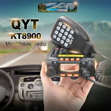 QYT KT-8900 Dual-Band 25W VHF UHF Car/Truck Ham Mobile Transceiver,Two Way Radio