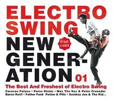 ELECTRO SWING NEW GENERATION 01   CD NEU