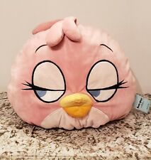 Angry Birds Lovely STELLA Pink GIRL Bird DREAMY Eyes Plush pillow.