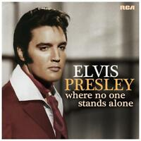 ELVIS PRESLEY WHERE NO ONE STANDS ALONE CD NEW Australian made