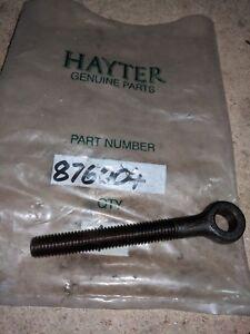 HAYTER LAWN MOWER SWING BOLT CYLINDER ADJUSTER P/N 876004