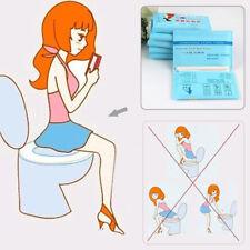 10Pcs Sac Jetable Papier Housses Protection Pour Siège Toilette Enceintes Voyage