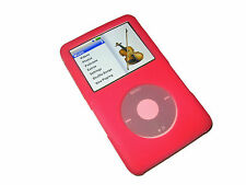 Pink Silicone Skin Case Cover for Apple iPod Classic 80/120/160GB 6th Generation