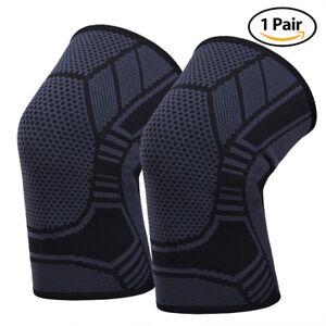 Knee Brace Patella Support Arthritis Wraps Sleeve Jogging Running Joint Sports