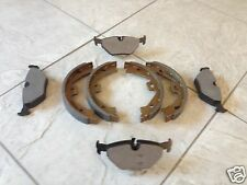 ROVER 75 MG ZT 99-- ONE SET OF REAR BRAKE PADS AND A SET OF HAND BRAKE SHOES