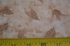 By 1/2 Yd, Brown on Tan Quilting, Timeless Treas/Back to Nature/JT-C 5842, B574