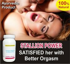 Stallion Power - Rock hard eraction, Last Longer, Orgasm Control, Delay Pills