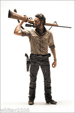 "Rick Grimes e Daryl Dixon The Walking Dead Serie TV 10"" DELUXE ACTION FIGURE"