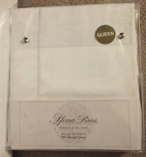 Sferra Bros. White 4 Piece Queen Sheet Set NWT 500TC