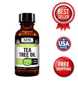 100% Pure Tea Tree Melaleuca Oil 2oz Therapeutic Grade All Natural Essential Oil
