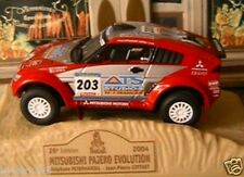 MITSUBISHI PAJERO EVOLUTION 2004 RALLYE PARIS DAKAR NEW 1/43 NOREV M6 COLLECTION
