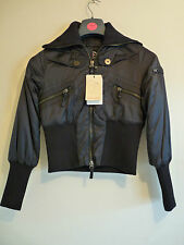 PSYCHO COWBOY WOMENS BLACK PADDED COAT    (M)    £70     BNWT