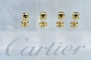 Cartier C decor rimless Nuts/CapsSunglasses vintage eyeglasses lunettes
