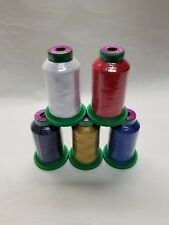 5 pack of Isacord Thread Red White and Blue kit -( New in wrapper)