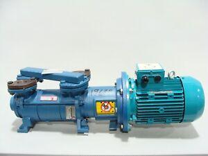 New Travaini TRHE 32-60/C-M/RZ Two Stage Liquid Ring Vacuum Pump Invensys 3.5kW