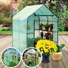 Gewächshaus Gartenhaus Treibhaus Garten Frühbeet Tomaten PVC Folie 143*73*195cm
