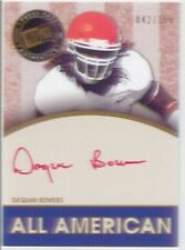 daquan bowers rc rookie auto autograph tampa bay bucs clemson college red ink #d
