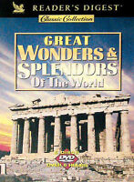 Readers Digest - Great Wonders  Splendors of the World - 6 Pack DVD - New