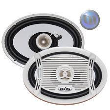 AXIS Marine Boat 6x9 2-Way 200 Watt Speakers NEW Quality Audio Water/Rust Resist