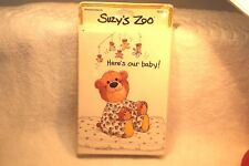 Suzy's Zoo Baby Birth Announcements New pack of 10 Vintage