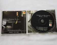KISSIN-LEVINE / BEETHOVEN Concertos Nos.2 & 5  CD SONY SK 62926 (1997) NMINT