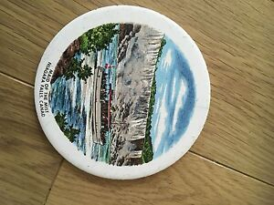 Vintage Niagra Falls Maid of the Mist COLLECTIBLE CERAMIC TABLE / PLACE MAT