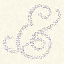BasicGrey OPALINE Designer Half Pearls- AMPERSAND Pearl #2509 scrapbooking SALE!