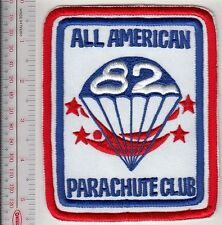 Freefall US Army 82nd Airborne Division Sport Parchute Club ''All American'' wh