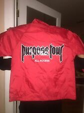 Pacsun All Access Just Bieber Purpose Tour Jacket Windbreaker Size Medium Red