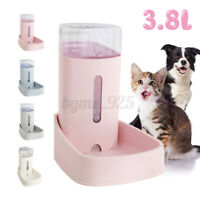 3.8L Automatic Pet Water Feeder Dispenser Dog Cat Self Feeding Drinking