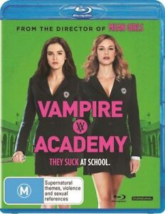 Vampire Academy (Blu-ray, 2014) Gabriel Byrne, Claire Foy, Dominique Tipper