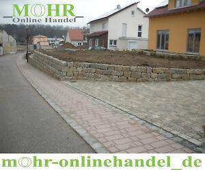 Muschelkalk Mauersteine Natursteine Trockenmauer Mauerwerk Garten Steine