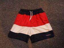 Pierre Cardin Da Uomo Nuoto Pantaloncini Rosa Design Taglie S M L XL XXL Nuovo di Zecca