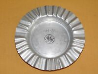"VINTAGE 6 3/4"" ACROSS GE GENERAL ELECTRIC LGM-AC 1967 METAL CIGARETTE ASHTRAY"