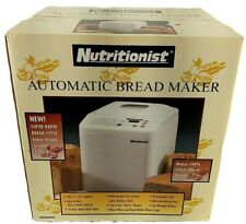 Nutritionist Automatic Bread Maker Machine Model NTR440SPR New Sealed Box