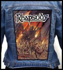 RHAPSODY - Rain of a Thousand Flames  --- Huge Jacket Back Patch Backpatch