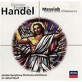 Handel: Messiah (arias and choruses) By Georg Friederich Handel=free post