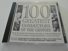 Classic Cd - 100 Greatest Conductors Of The Century (CD Album) Used Very Good