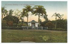 POSTCARDS-CENTRAL AMERICA-PANAMA-PTD. A Country Dwelling in The Sabana.