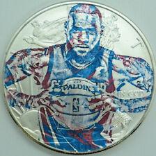 Lebron James American Silver Eagle 1oz .999 Limited Edition Silver Dollar Coin