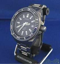 Seiko 7S25-00D0 Titanium Diver Scuba Date Box Blue Samurai Automatic Mens Watch