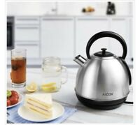 AICOK 1.7-Liter Brushed Stainless Steel Electric Kettle 1500W