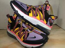 Nike Air Max 270 Bowfin shoes men sz 9 black atomic violet AJ7200 004