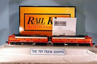 RAIL KING MTH 30-2679-1 SOUTHERN PACIFIC DAYLIGHT E-8 AA DIESEL SET. TESTED.