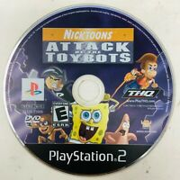 Nicktoons: Attack of the Toybots PS2 Sony PlayStation 2 Video Game Disc Only