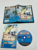 Sony PlayStation 2 PS2 CIB Complete Tested Top Angler Real Bass Fishing Ships Fa