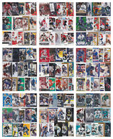 Goalie Lots 15-35 Cards - Choose From List - Insert RCs See Scans NHL Hockey