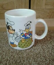 Mickey mouse & donald duck ceramic mug crafted with pride in usa treasure craft