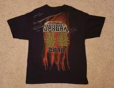 2010 Rockstar Uproar Festival XL T-Shirt Signed by Sons of Anarchy Jax Opie Chib